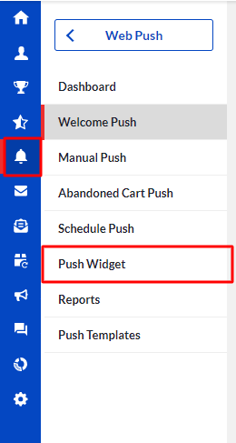 push-widget