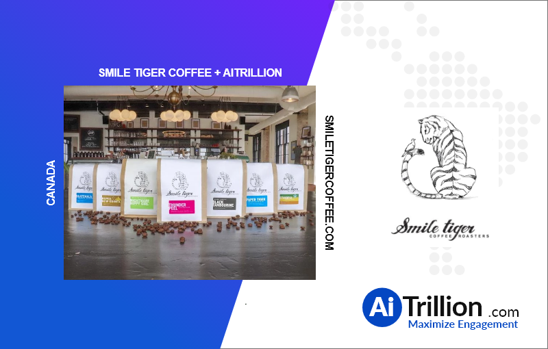 Smile tiger coffee is onboard with aitrillion