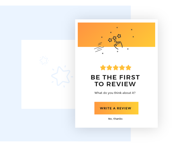 Review Request popup