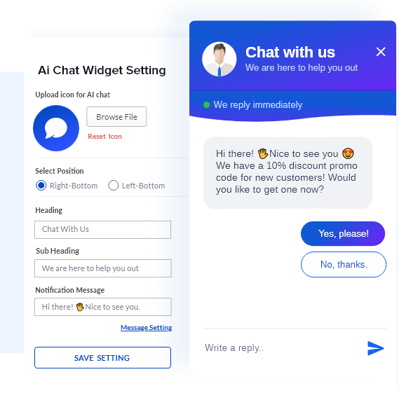 Powerful Chatbot Integration With AiTrillion