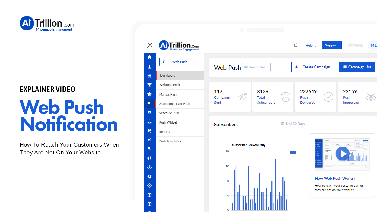 Web Push - Explainer Video