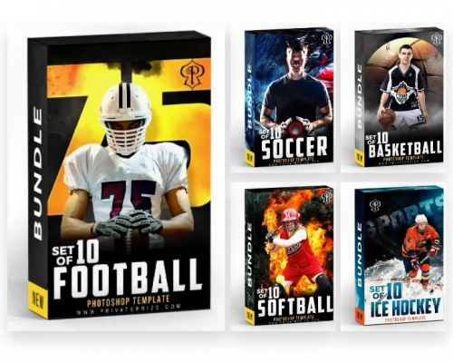 Sports Theme Sports Photography Template