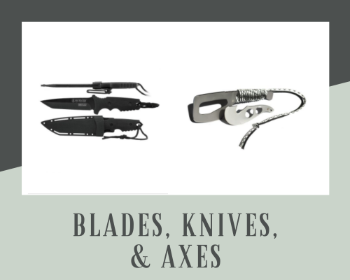 Blades and knives