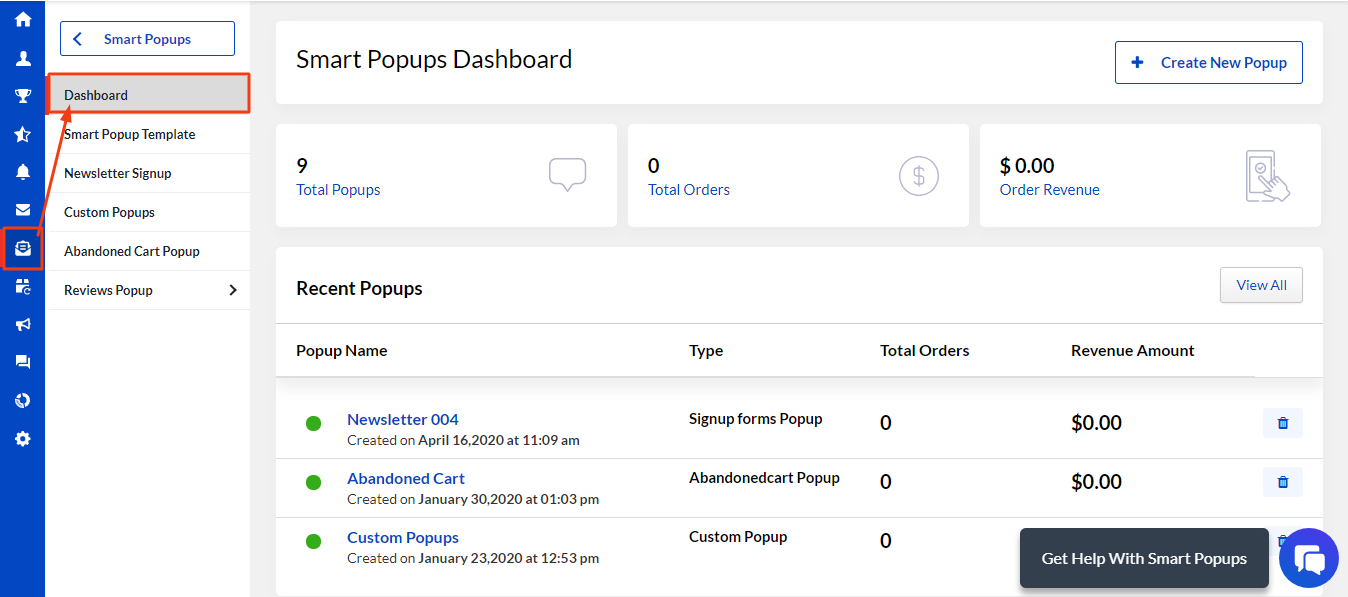 smartpopup-dashboard