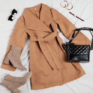 brown coat for women