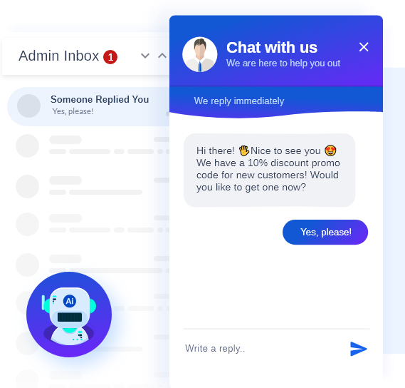 Live Chat and Chatbot
