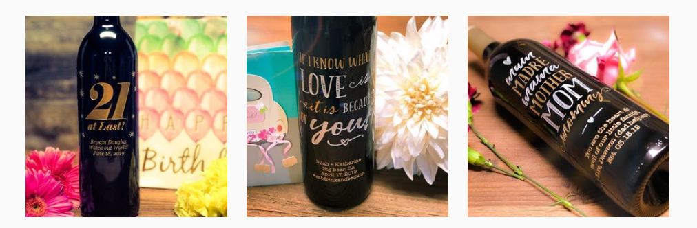 Customized wines