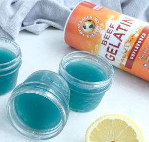 Blue Lemonade Jello