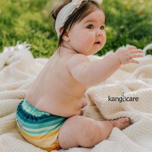 Ecoposh OBV Newborn Fitted Cloth Diaper - Caribbean