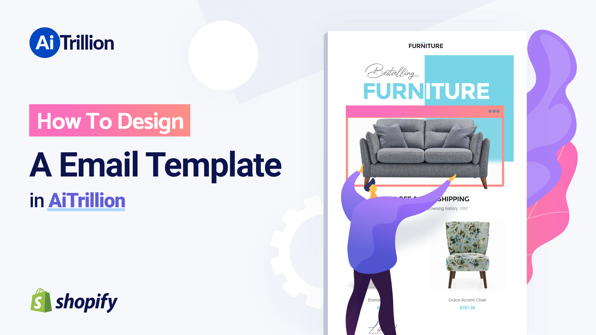 How To Design A Email Template in AiTrillion