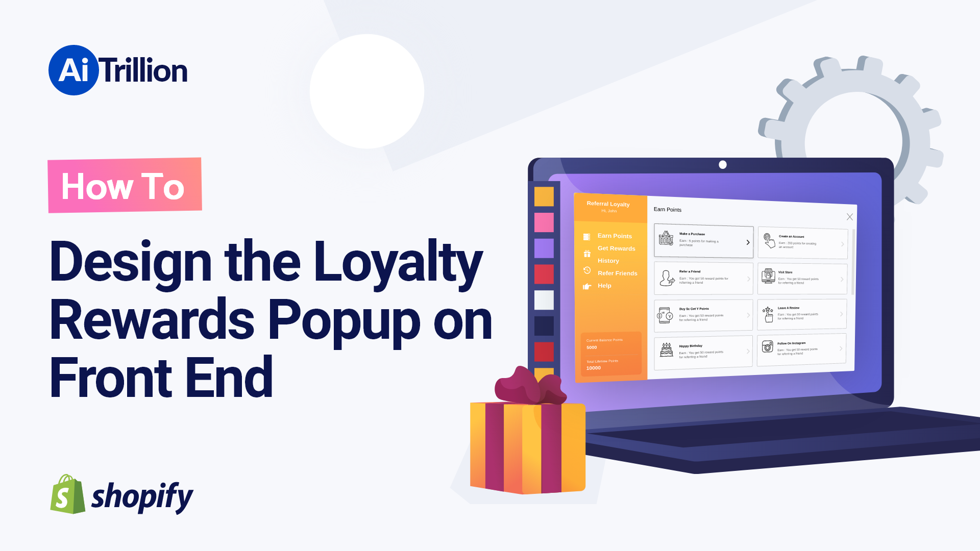 How To Design the Loyalty Rewards Popup on Front End
