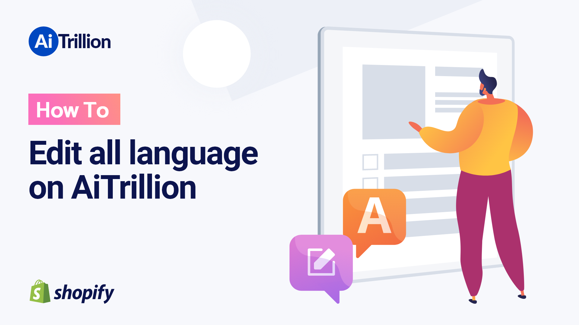 How To Edit all language on AiTrillion