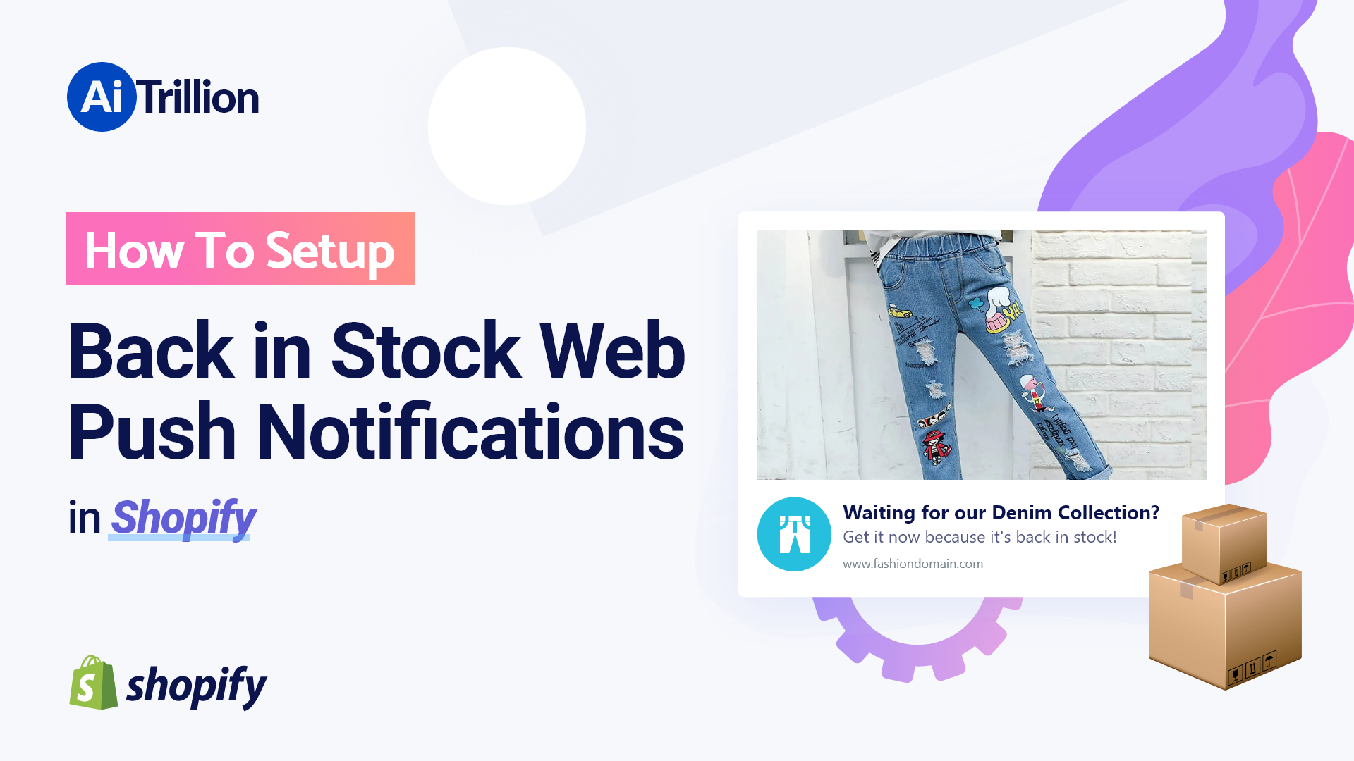 How To Setup Back in Stock Web Push Notifications