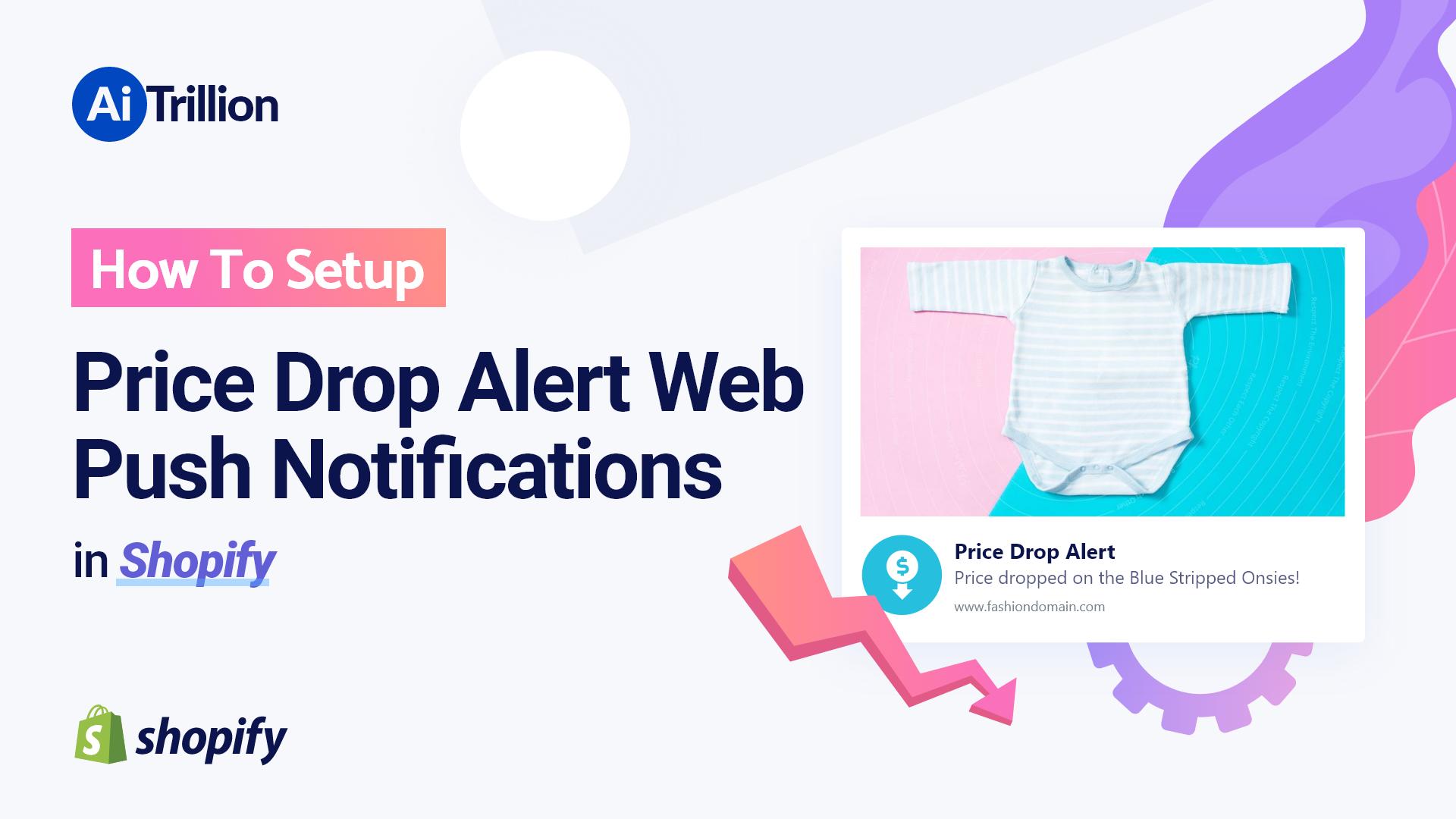 How To Setup Price Drop Alert Web Push Notifications