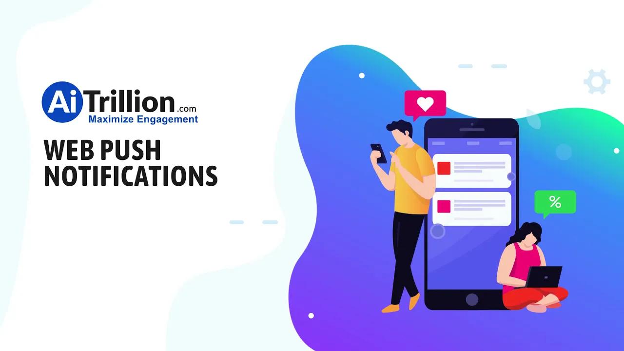 eCommerce Web Push Notifications AiTrillion