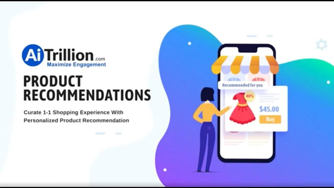 eCommerce Product Recommendations | AiTrillion