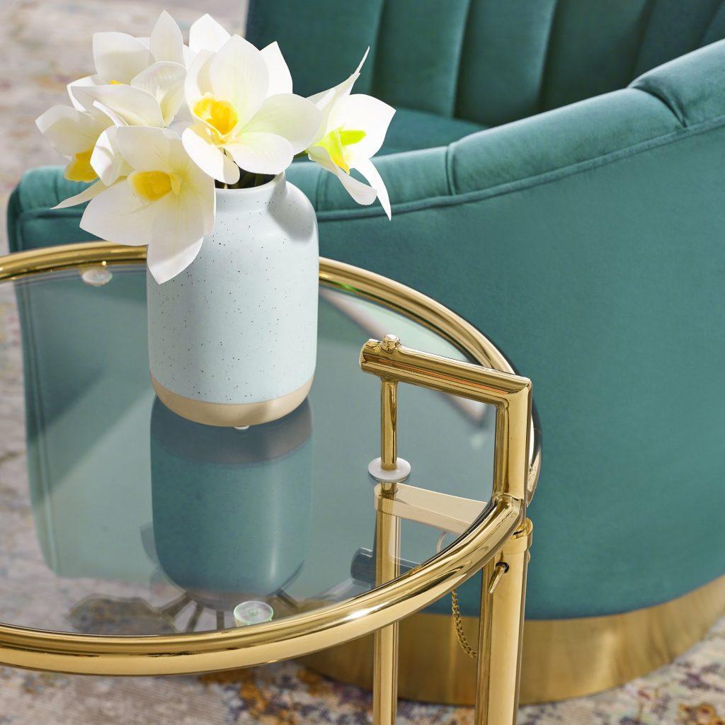 Showpiece flower pot