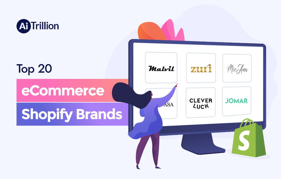 Top 20 eCommerce Shopify Brands