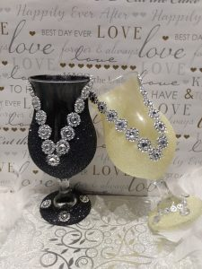 wine glass for gift