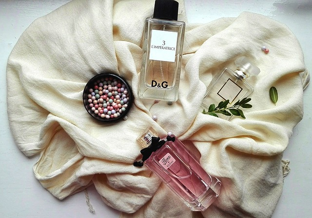 Online shop of perfumes