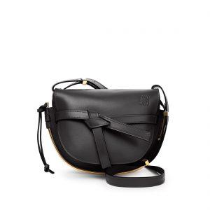 Gate Frame Small Black Bag